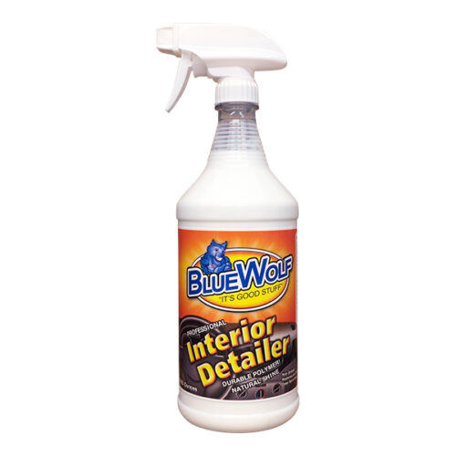 Blue Wolf Interior Vinyl Dressing 32oz Spray Bottle